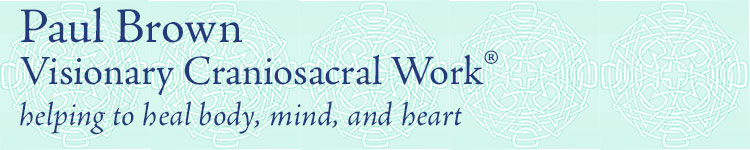 paul brown craniosacral therapy